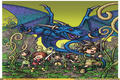 "Nintendo DS - ""Blue Dragon: Awakened Shadow - Artworks""-Screenshot"