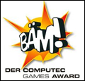 BÄM! Der Computec Games Award 2011 Theme